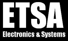 Logo ETSA Blanc sur Fd Noir